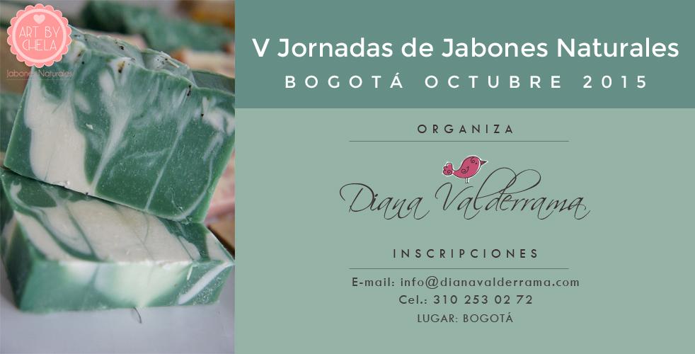 Bogotá, V Jornadas de Certificación en Jabonería Artesanal y Cosmética Natural Casera