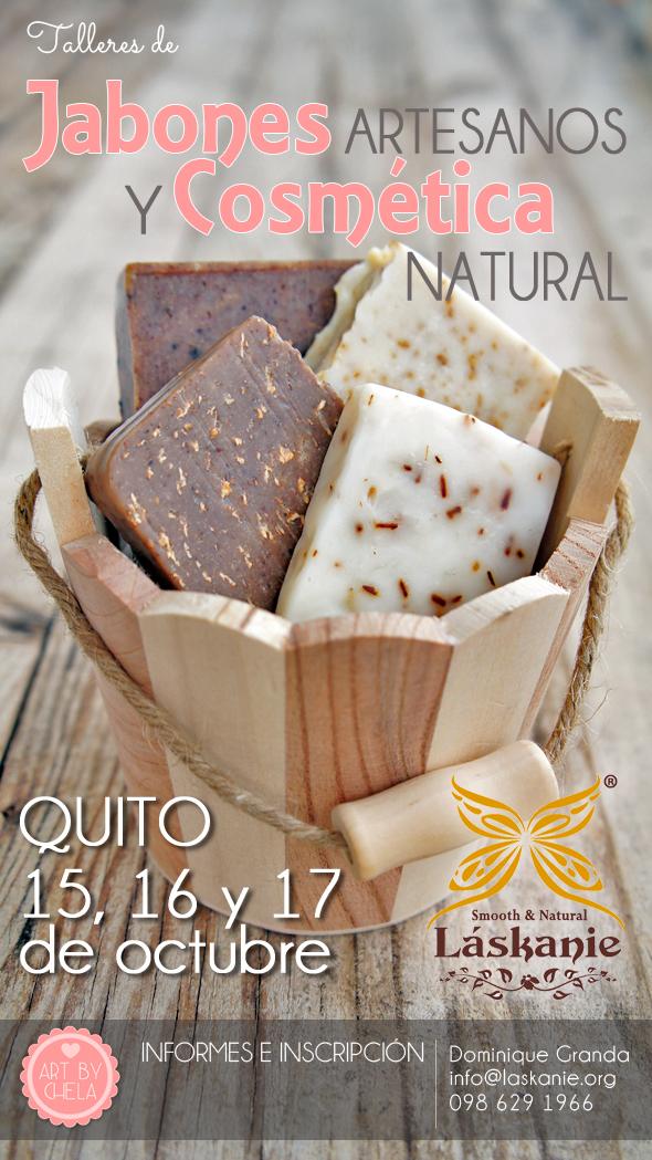 Quito, II jornadas de Certificación en jabonería artesana Natural