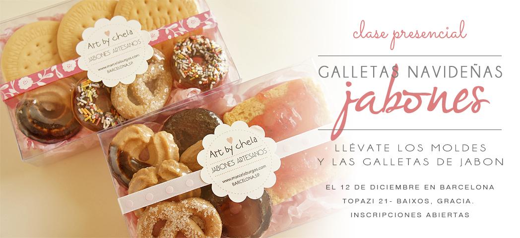 Clase de elaboración Jabones Galletas y moldes de siliconas