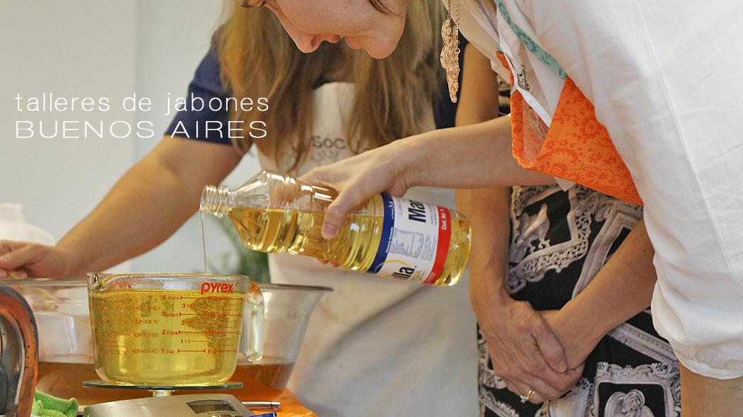 Buenos Aires, talleres de Jabonería y Cosmética DIY en noviembre 2016