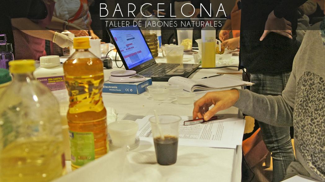 Barcelona, Taller de Jabones Naturales, 15 de octubre