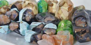 Jabones piedras preciosas y Cosmética para el invierno