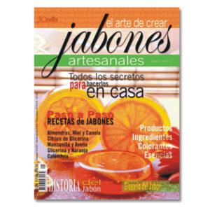 """Revista """"El arte de crear jabones artesanales"""""""