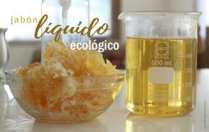 Jabón líquido ecológico lava platos