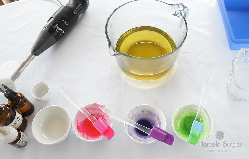 Los colorantes para jabón artesano (parte 1)